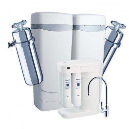 Умягчитель Аквафор WaterMax APQ + Викинг 2 шт. + Морион + Соль 2 мешка